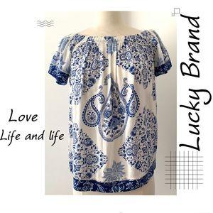 🍃Lucky Brand Boho Top